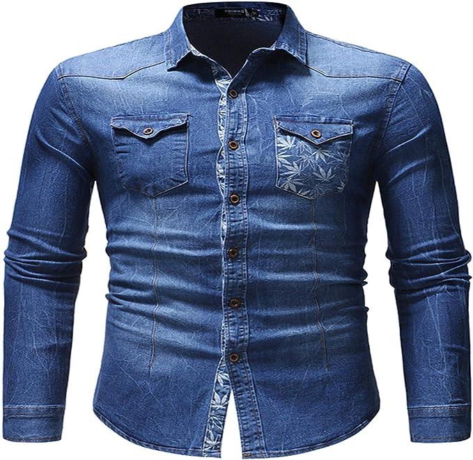 Camisas para Hombres Nueva Camisa Vaquera de Comercio ...