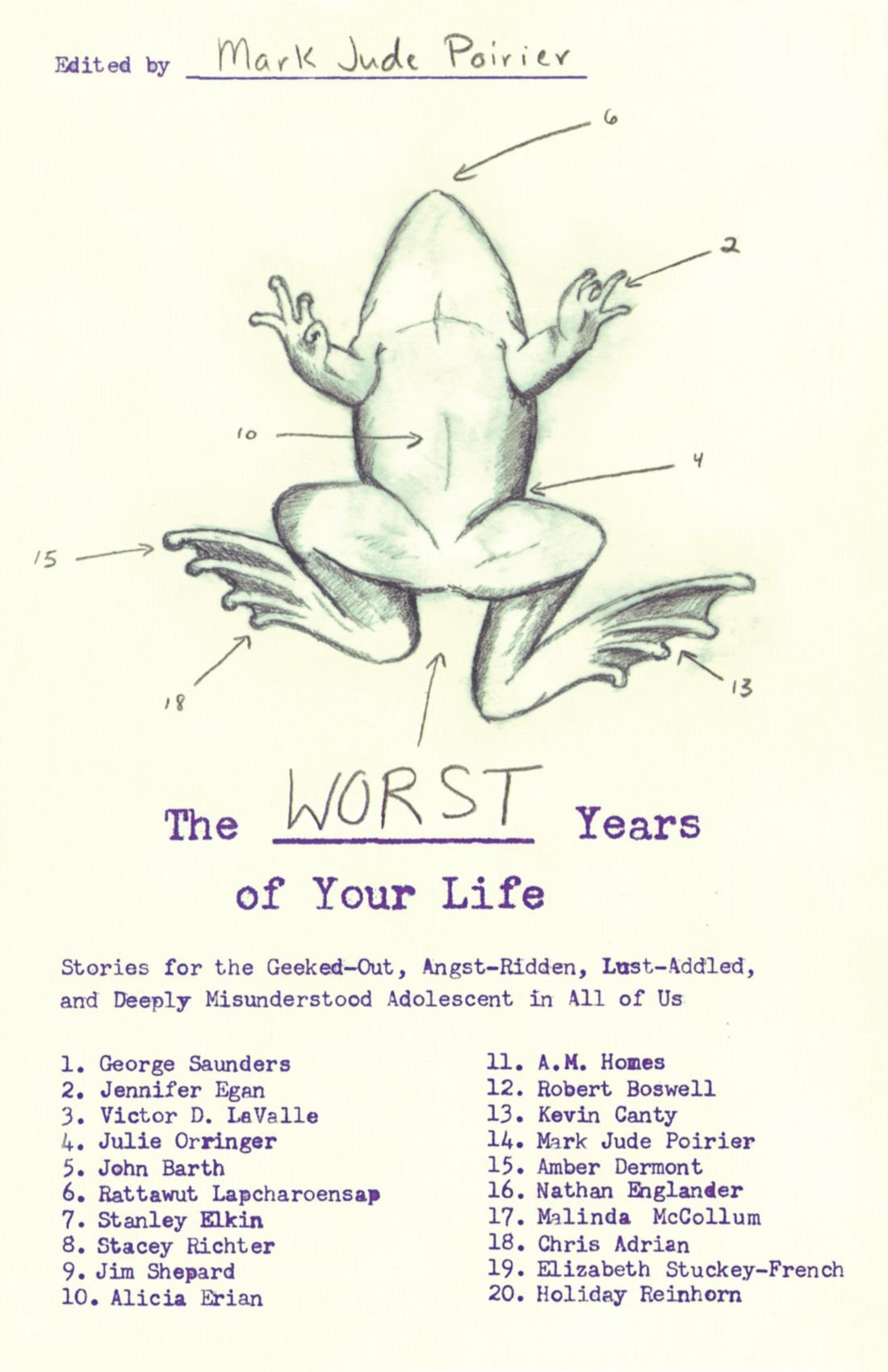 The Worst Years Of Your Life: Stories For The Geekedout, Angstridden,  Lustaddled, And Deeply Misunderstood Adolescent In All Of Us: Mark Jude  Poirier: