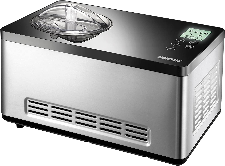 UNOLD 48880 Profi Plus EISMASCHINE Eiscrememaschine Kompressor 2,5 l NEU OVP