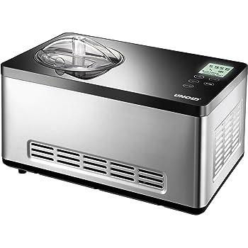 Eine gute Eismaschine mit Kompressor bekommen Sie von dem Hersteller Unold.