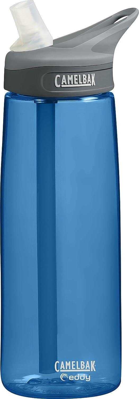 Camelbak Botella 'Eddy' Mod.16 - Botella a prueba de goteo, color azul, capacidad 0,6 litros 53847