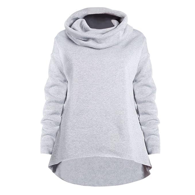 West See Damen Frau Hoodies Sweatshirt Pullover Langarm Herbst Winter  beiläufig Shirs Tops (EU 36 26da60b8c1