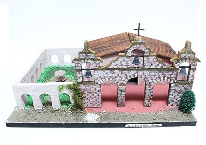 California Mission Model Kit San Antonio De Padua