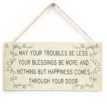 Amazon.com: meijiafei May Your problemas ser menos your ...