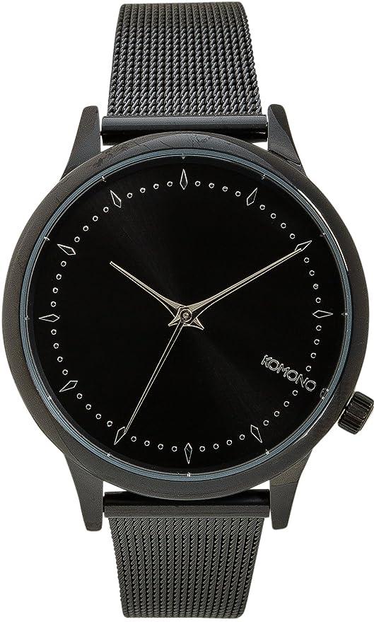 Komono - Estelle Royale - Reloj - Black/Silver-coloure