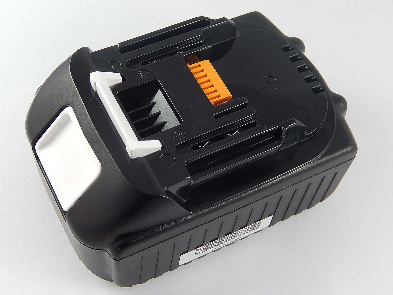XVJ03Z INTENSILO Li-Ion batería 6000mAh para herramienta eléctrica Makita XST01Z XWT01Z VHBW4251215355140 XWT02M XWT02Z por BL1830 XVJ02Z XTS01Z 194204-5