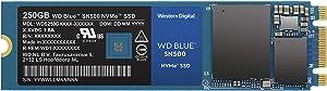 Western Digital 250GB WD Blue SN500 NVMe Internal SSD - Gen3 PCIe, M.2 2280, 3D NAND, Up to 1700 MB/s - WDS250G1B0C