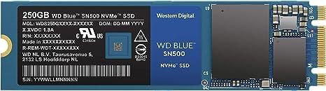Western Digital SN500, SSD, Velocidad de Lectura de hasta 1700 MB ...