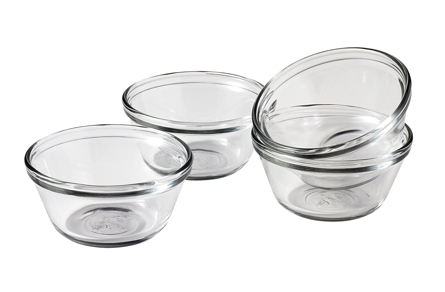 Anchor Hocking 6-Ounce Custard Cups, Set of 4, Standard Packaging 81672L11
