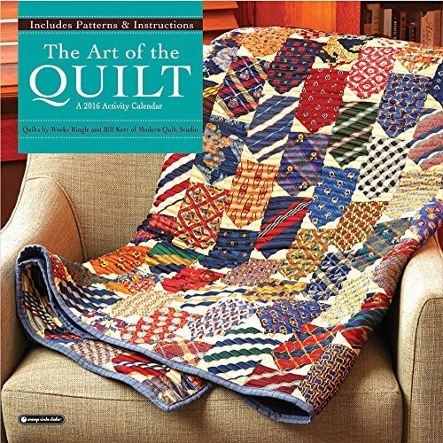 Orange Circle Studio 2016 Activity Wall Calendar, The Art of the Quilt by Orange Circle Studios (2015-06-01) (The Art Of The Quilt 2015 Calendar)