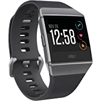 Fitbit Ionic Smartwatch Fitness Tracker with Heart Rate Monitor (Charcoal Gray / Burnt Orange) + $60 Kohls Cash + The Big One Washcloth