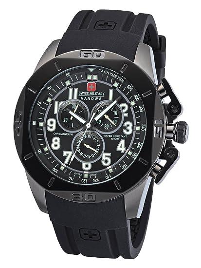 Swiss Military Hanowa Battlefield - Reloj de hombre XL Chrono 06 – 4295.30.007: Amazon.es: Relojes
