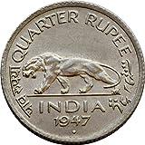 Collection House Quarter Rupee 1947 Rare Coin-Collection Item-Old Coin