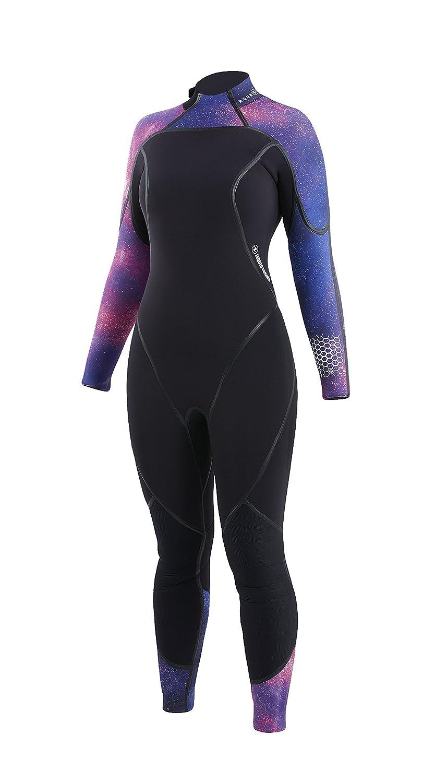 Aqua Lung AquaFlex女性用5 mmウェットスーツ B06XD8T41M Galaxy/Black 14 14 Galaxy/Black