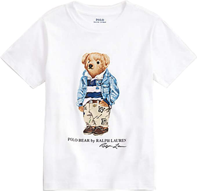 Polo Ralph Lauren - Camiseta 323785928005 - Camiseta NIÑO (M (10-12)): Amazon.es: Ropa y accesorios