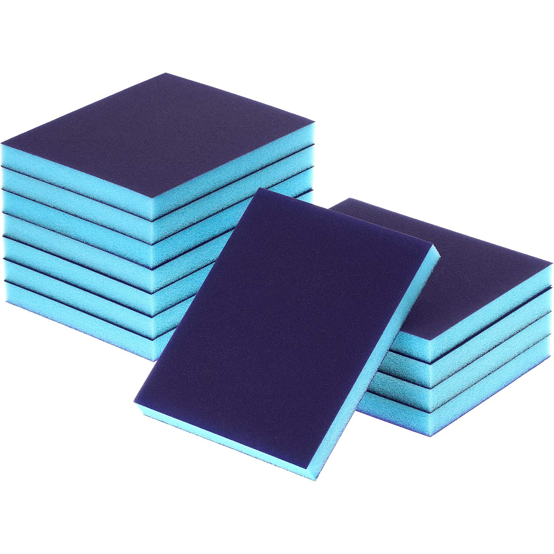 eBoot Sanding Sponge Grit Sanding Blocks, Washable and Reusable Sand Sponge Kit, 12 Pieces (Superfine Grade) by eBoot