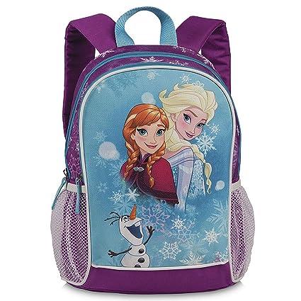 12193164ab Disney 20407-1904 Frozen zaino per bambini, 35 cm, viola/azzurro:  Amazon.it: Valigeria