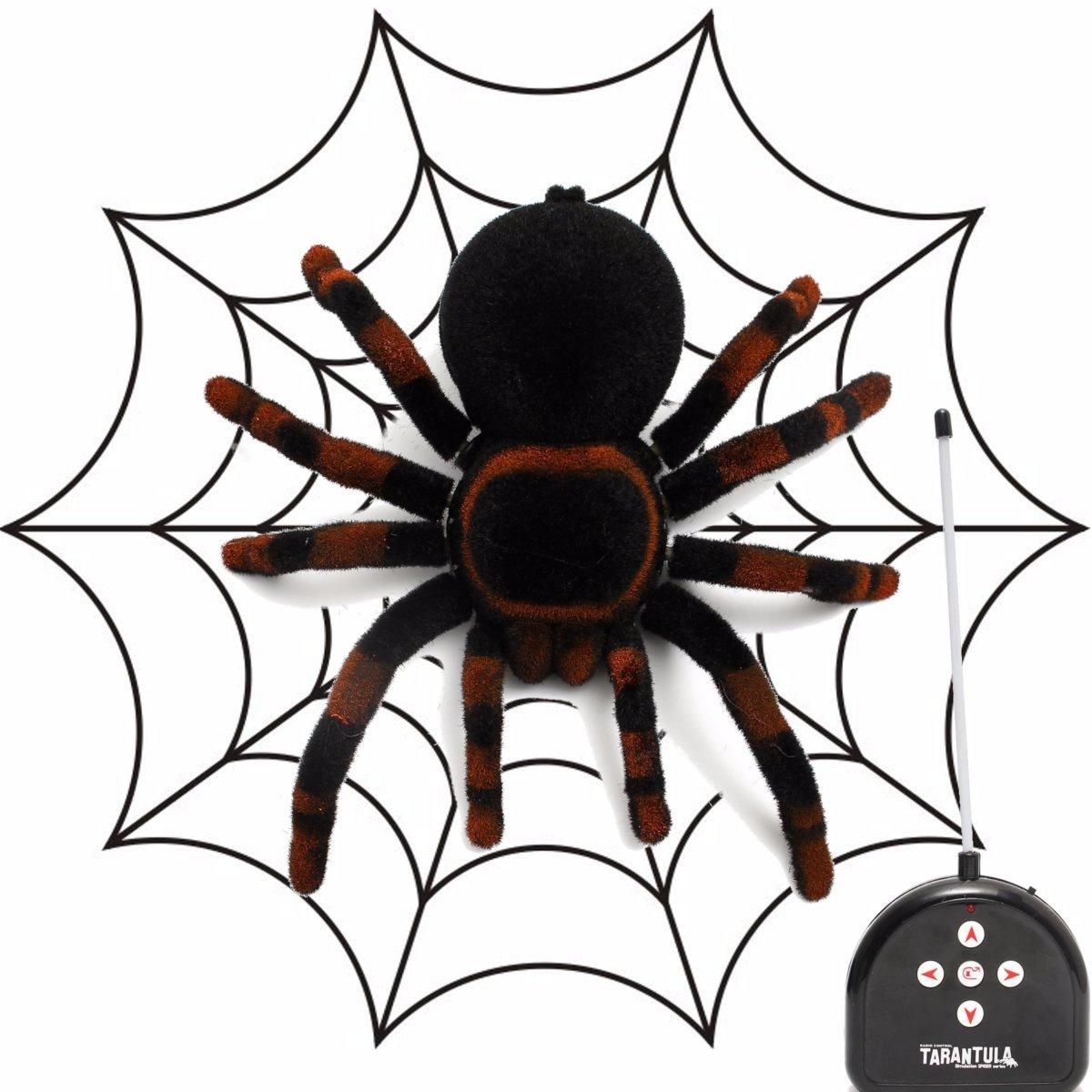 amazon com meco spider scary toy remote control 8 u0027 u0027 4ch realistic