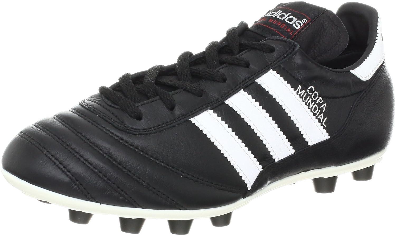 Adidas Coupe du Monde Sol Dur Adulte Chaussures de Football–Chaussures de Football (Sol Dur, Adulte, Masculin, Semelle queues, Noir, Blanc, Motifs) MainApps 15110