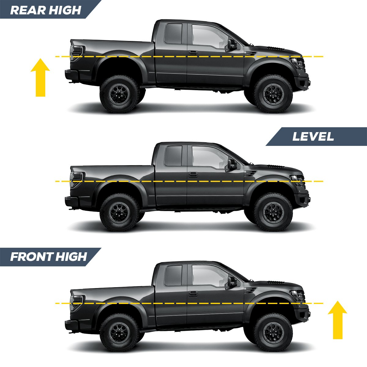 KSP Performance 3 Front 2 Rear Lift Kits Assemble for 4x4 ram 1500 Struts Spacers 2009 2010 2011 2012 2013 2014 2015 2016 2017 2018 Leveling Kit for Dodge Ram 1500 4WD 2009-2018