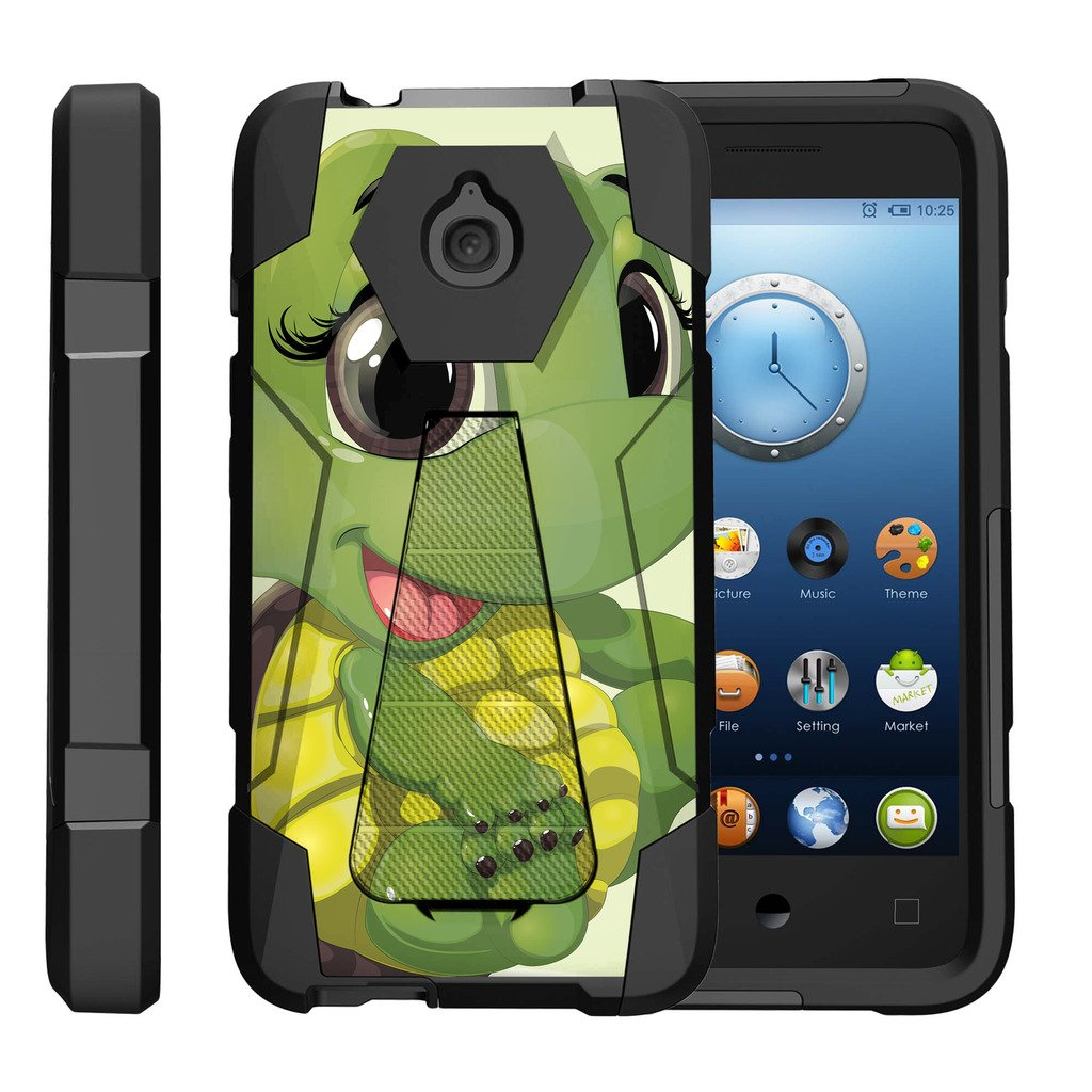 Amazon.com: TurtleArmor | Alcatel Acquire Case | Streak Case | Dawn Case | Ideal Case [Dynamic Shell] Hybrid Duo Cover Impact Shock Silicone Layer Kickstand ...