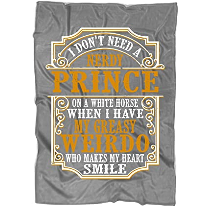 Amazon.com  I Don t Need A Prince Blanket for Bed and Couch 0eb340172