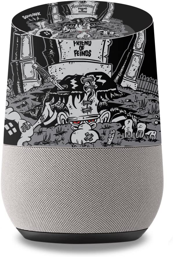 MightySkins Skin Compatible with Google Home wrap Cover Sticker Skins Freakenstein
