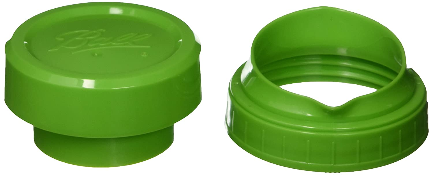 JARDEN HOME BRANDS 1440040002 Pour and Measure Cap, Plastic, Green