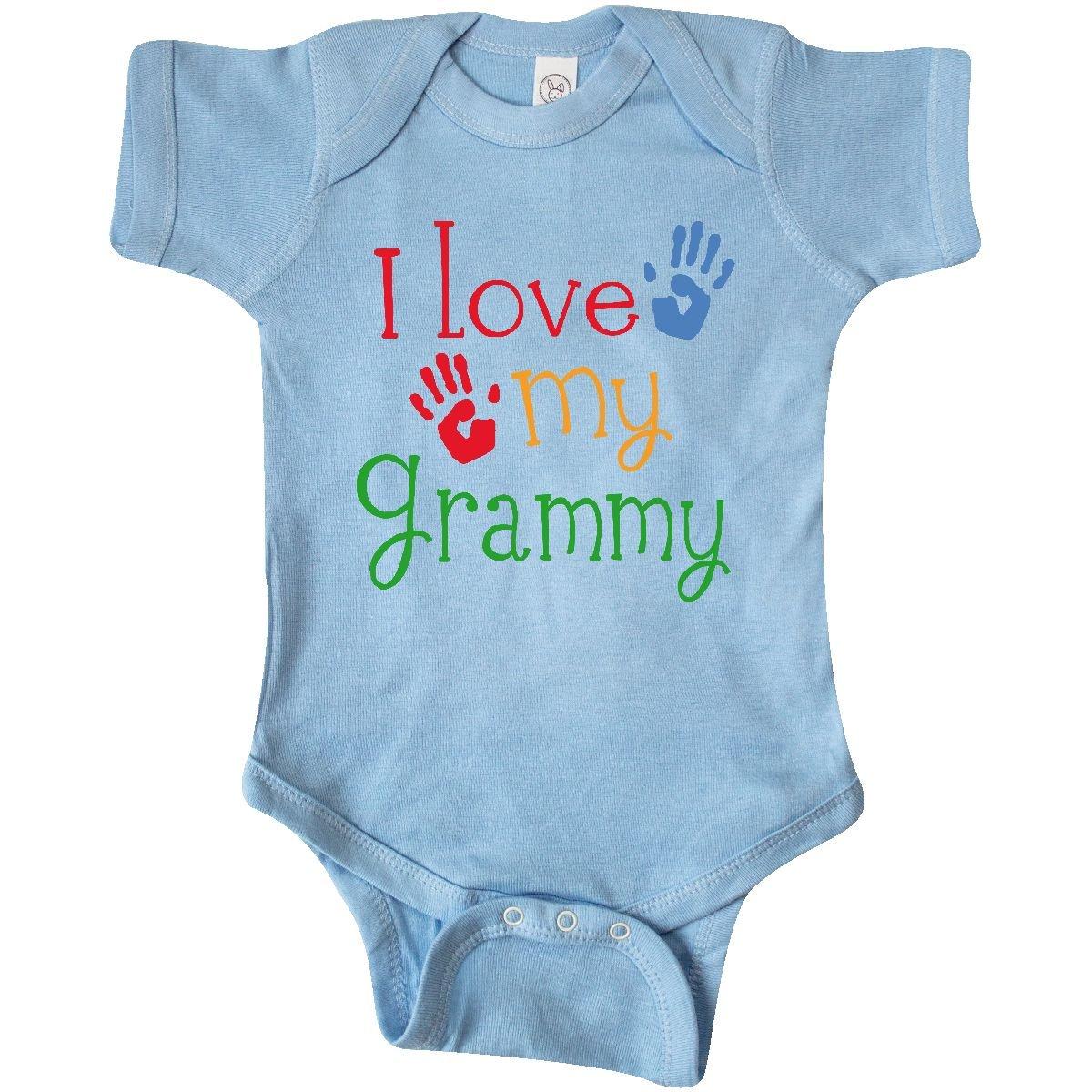 Amazon.com: Inktastic - I Love My Grammy Infant Creeper: Clothing