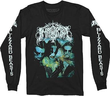 Camisa de Manga Larga Negro Saxon Crusader