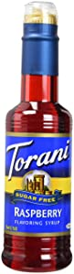 Torani Sugar Free Raspberry Syrup 12.7 ounce