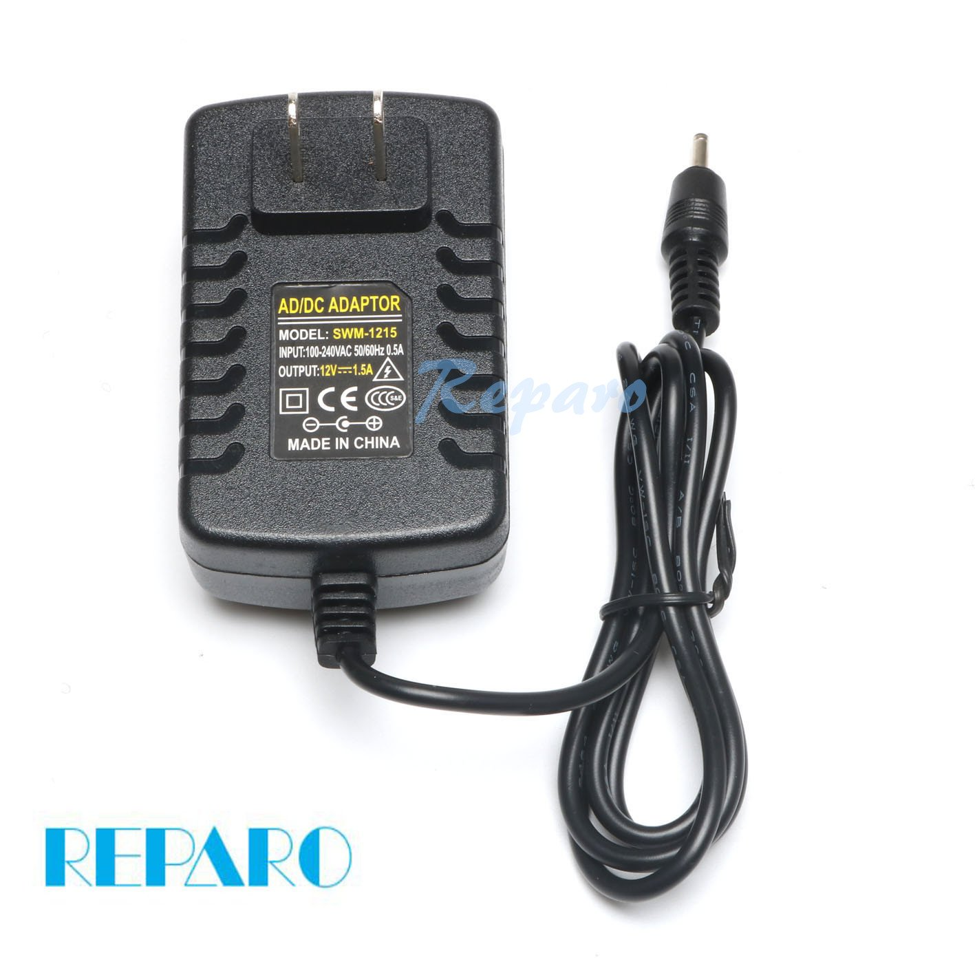 Reparo 12V AC AdapterWall Charger Home Powerfor Acer Aspire Switch SW5-012 SW5-015 SW5-011; Acer Iconia A100 A200 A210 A500 A501 W3 W3-810 Ak.018ap.040 Ak.018ap.027 ADP-18TB Lc.adt0a.024