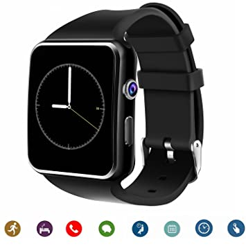 Pcjob SmartWatch x6 Bluetooth iOS Android para WIKO Fever ...