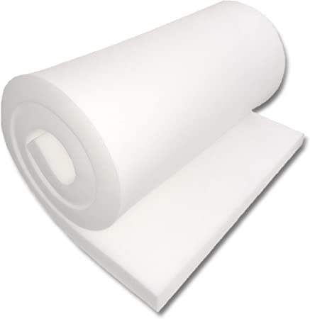 Home or Commercial Use Seat Replacement Foam Cushion 6 Thick 18 Wide X 72 Length Upholstery Foam Cushion Medium Density