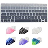 All-inside Ombre Gray Cover for Apple Magic Keyboard (MLA22LL/A) with US Layout