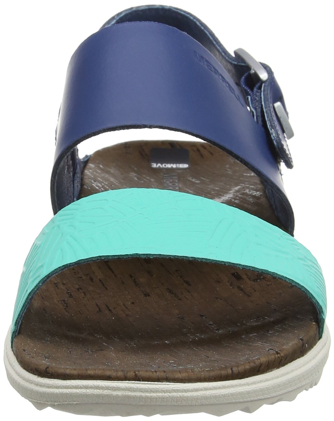 Merrell Women's Around Town Backstrap Sandal B01HHJMFQI 5 B(M) US|Poseidon