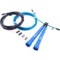 Ryher Speed Rope Springtouw voor Fitness - Springtouw voor Boksen, Crossfit, Double-Unders, Vetverbranding - Springtouw…
