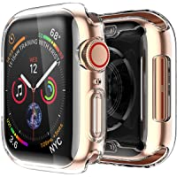 Smiling Apple Watch 4 Clear Case with Buit in TPU Screen Protector (44mm)