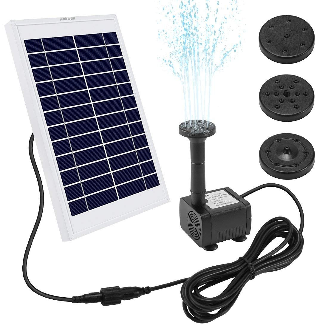 Ankway Solar Fountain Pump 5W 128