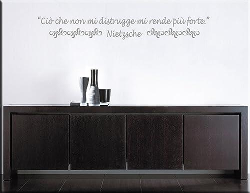 Arredi Murali Wall Stickers Adesivi Murali Citazione Frase