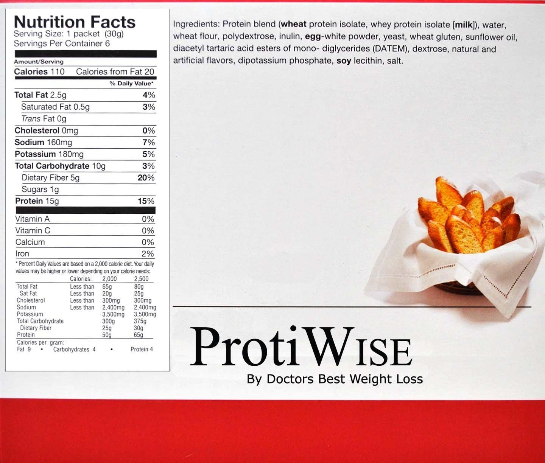 ProtiWise - Toast Parisien High Protein Rusk Bread (6/box)