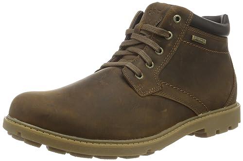 6425f09986e Rockport Men's's Rugged Bucks Waterproof Ankle Boots