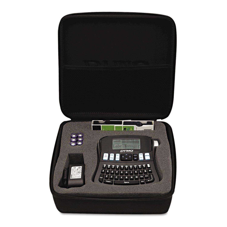 DYMO 1738976 LabelManager 210D Kit, 2 Lines, 6 1/10w x 6 1/2d x 2 1/2h