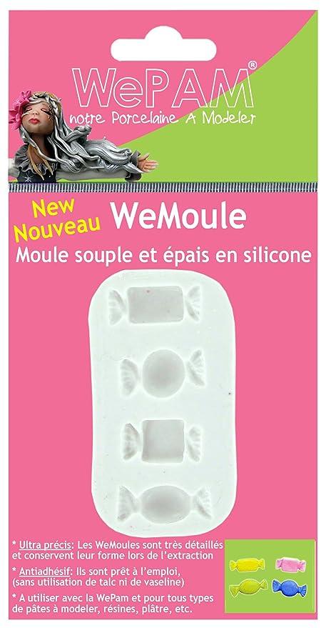 Cleopatre WeMoule - Molde de silicona para moldar varios dulces con porcelana fría