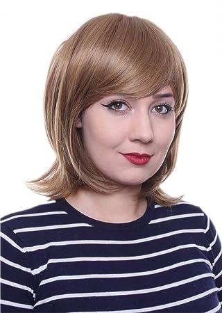 Perücken & Haarverlängerungen Kurzhaar Kurz-perücke Braun Mit Rotem Ton Volumen Lolita Bob Perücke Wig C1920 Kostüme & Verkleidungen