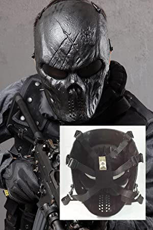 Tela metálica para trabajo con máscara de BB Protect ojo para Airsoft y Paintball Tactical Hockey