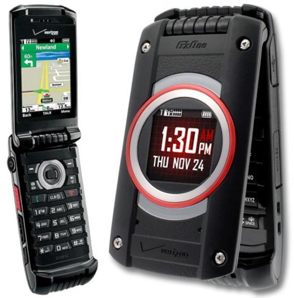Casio G'zOne Ravine 2 C781 Verizon Black