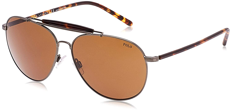 Ralph Lauren POLO 0PH3106 Gafas de sol, Aged Bronze, 60 para ...