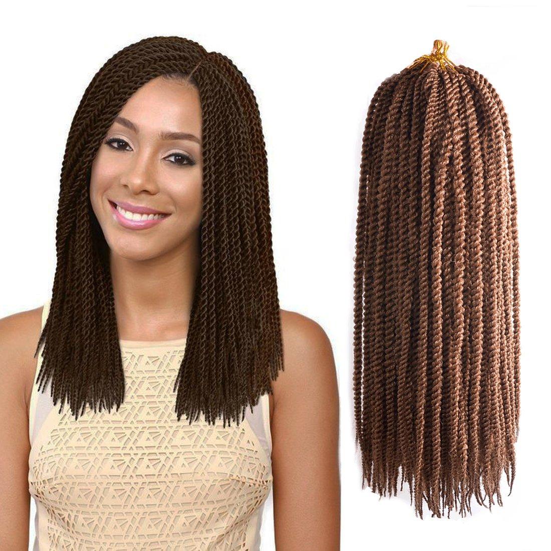 Best Hair Extensions Urqueen Ombre Senegalese Crochet Braids6 Pack