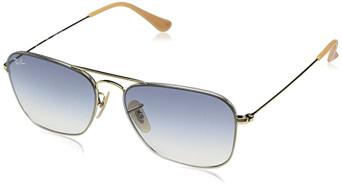 f0473a5efa Image Unavailable. Image not available for. Colour  RAYBAN Unisex s 0RB3603  001 19 56 Sunglasses ...